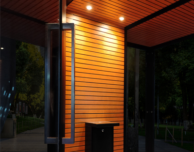 Outdoor Smoking Cabin by Smoke Solution
